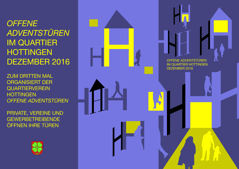 offene adventst ren im quartier hottingen kulturatelier u4. Black Bedroom Furniture Sets. Home Design Ideas