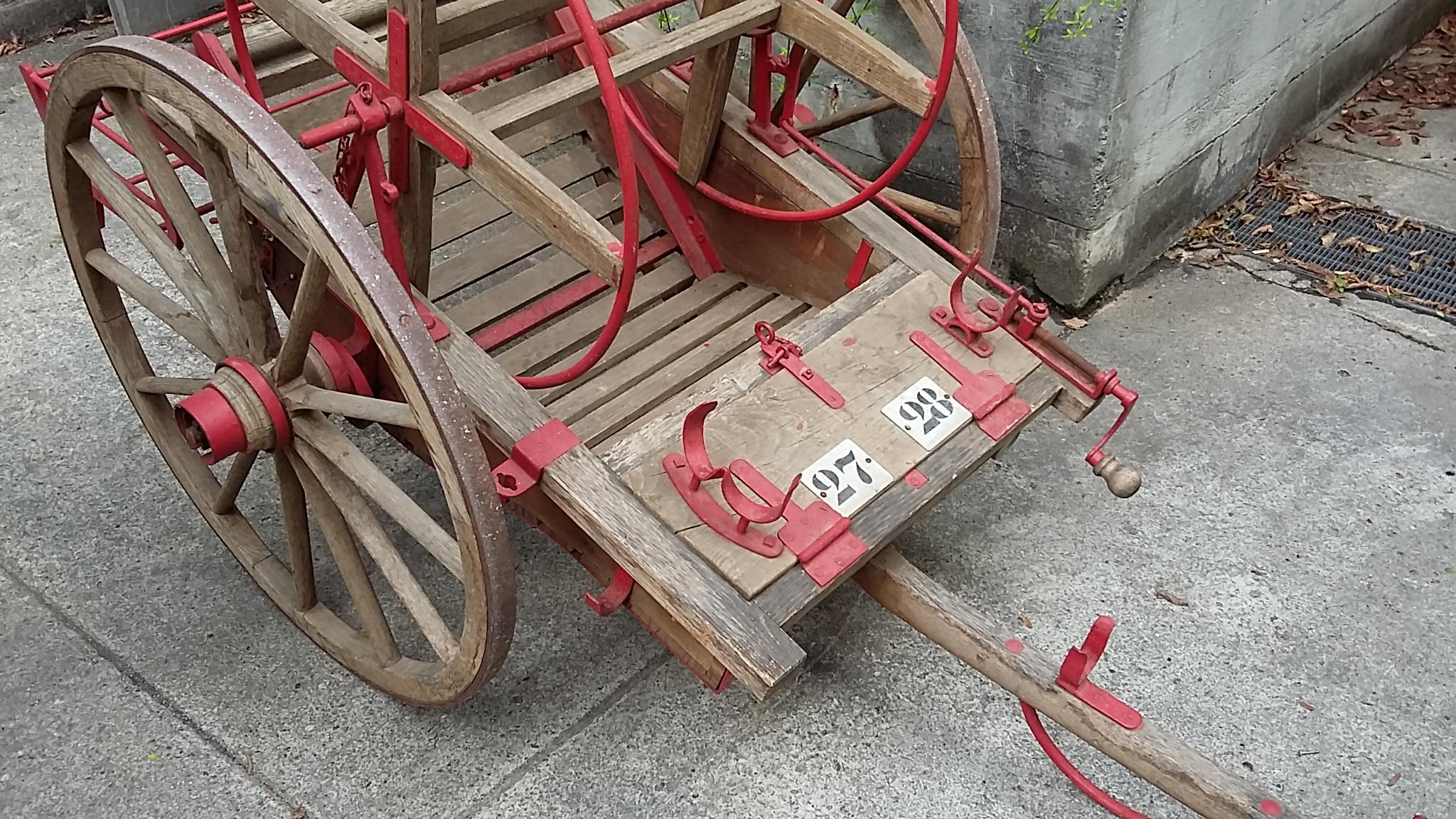 Feuerwehr-Schlauchwagen, Haspelwagen